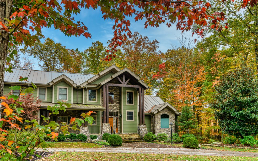 A Fall Foliage Visit to Big South Fork Airpark